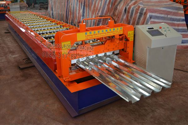 Our Metal Roofing Ibr Sheet Machine Consists Of Decoiler Roll Forming Machine Hydraulic Station System Plc C Roof Panels Roll Forming Steel Roof Panels