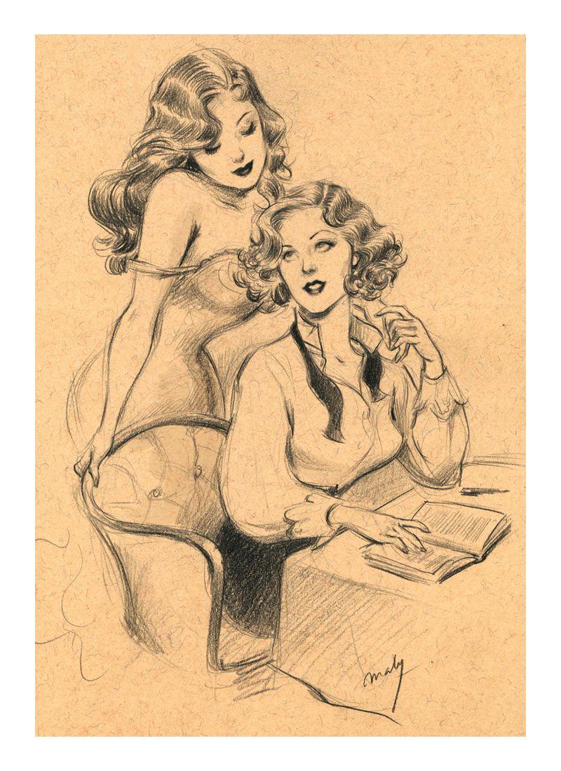 lesbiche schizzi concorso