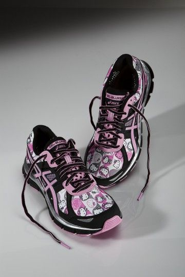 Run with Hello Kitty. Asics.
