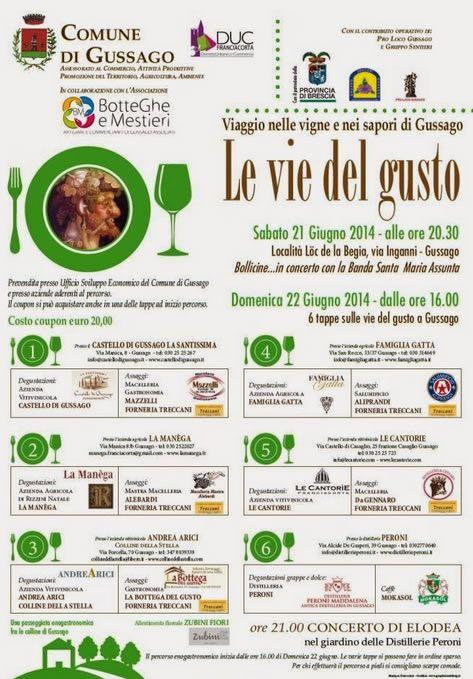 Le Vie del Gusto a Gussago http://www.panesalamina.com/2014/26392-le-vie-del-gusto-a-gussago.html