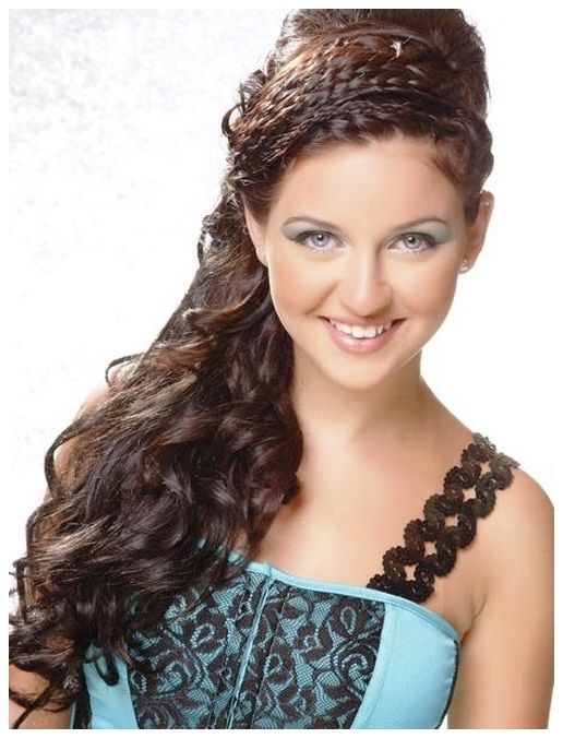 Prom Hairstyles with Braids and Curls | Prom Hairstyles With ...