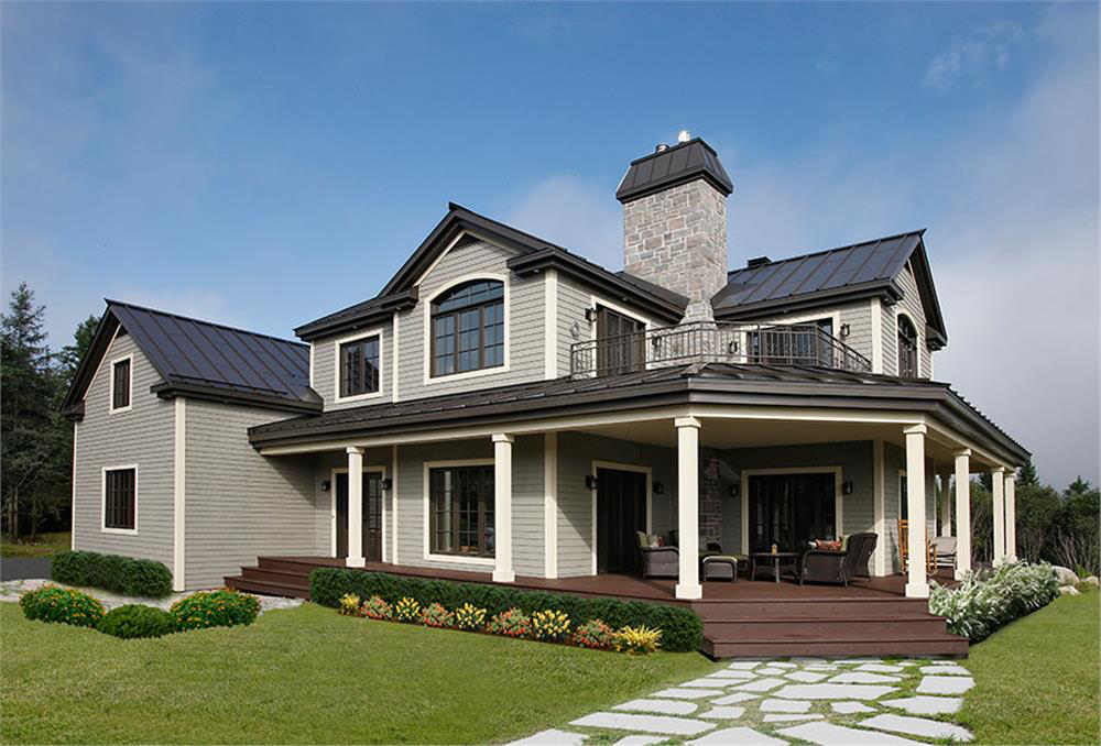 House Plan 126 1294 Is Right At The Average American Home Size Of 2687 Sq Ft