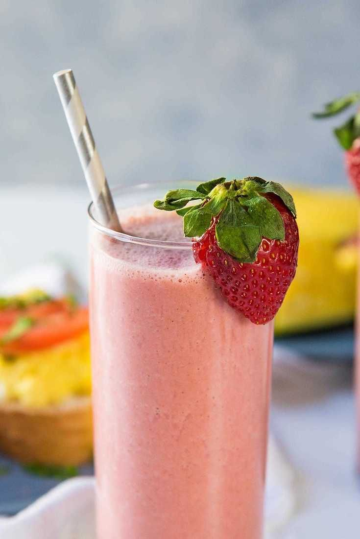 Healthy Breakfast Smoothies for You & Your Kids - 59 Quick Easy Recipes images