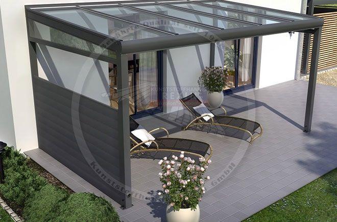 Seitenwand REXOcover TerrassendachSeitenwand nach Maß