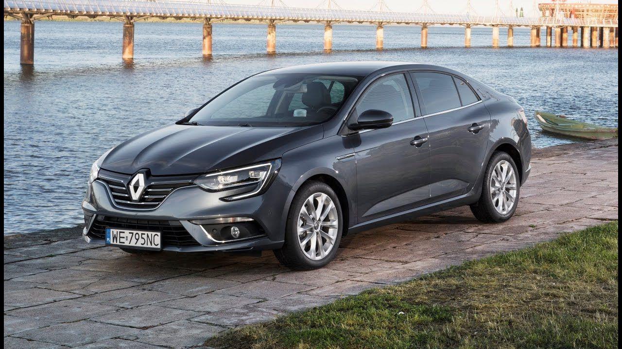 Renault Megane Sedan Interior Exterior And Drive Renault