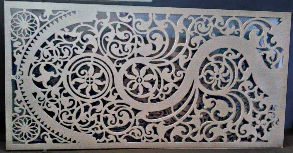 Bharat Sign Art Router Cutting In Delhi Cnc Jali