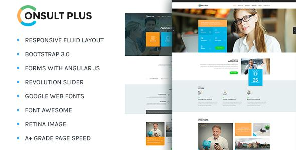Consult plus corporate business html5 template corporate consult plus corporate business html5 template fbccfo Image collections
