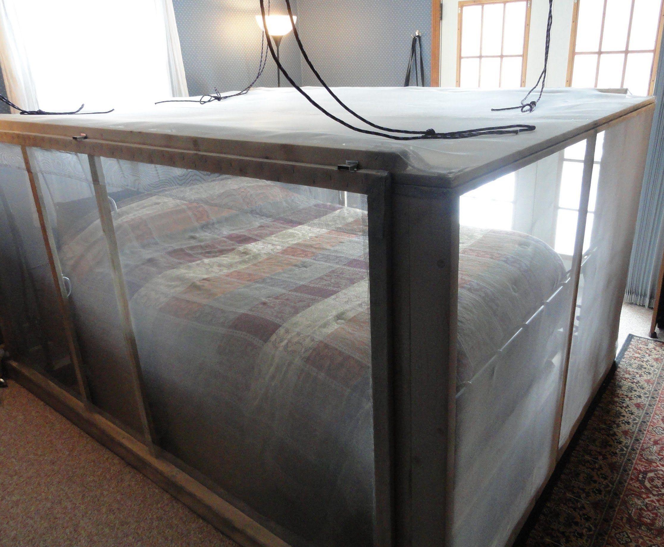 Sleep Inside A Faraday Cage Diy Bed Survival Cage