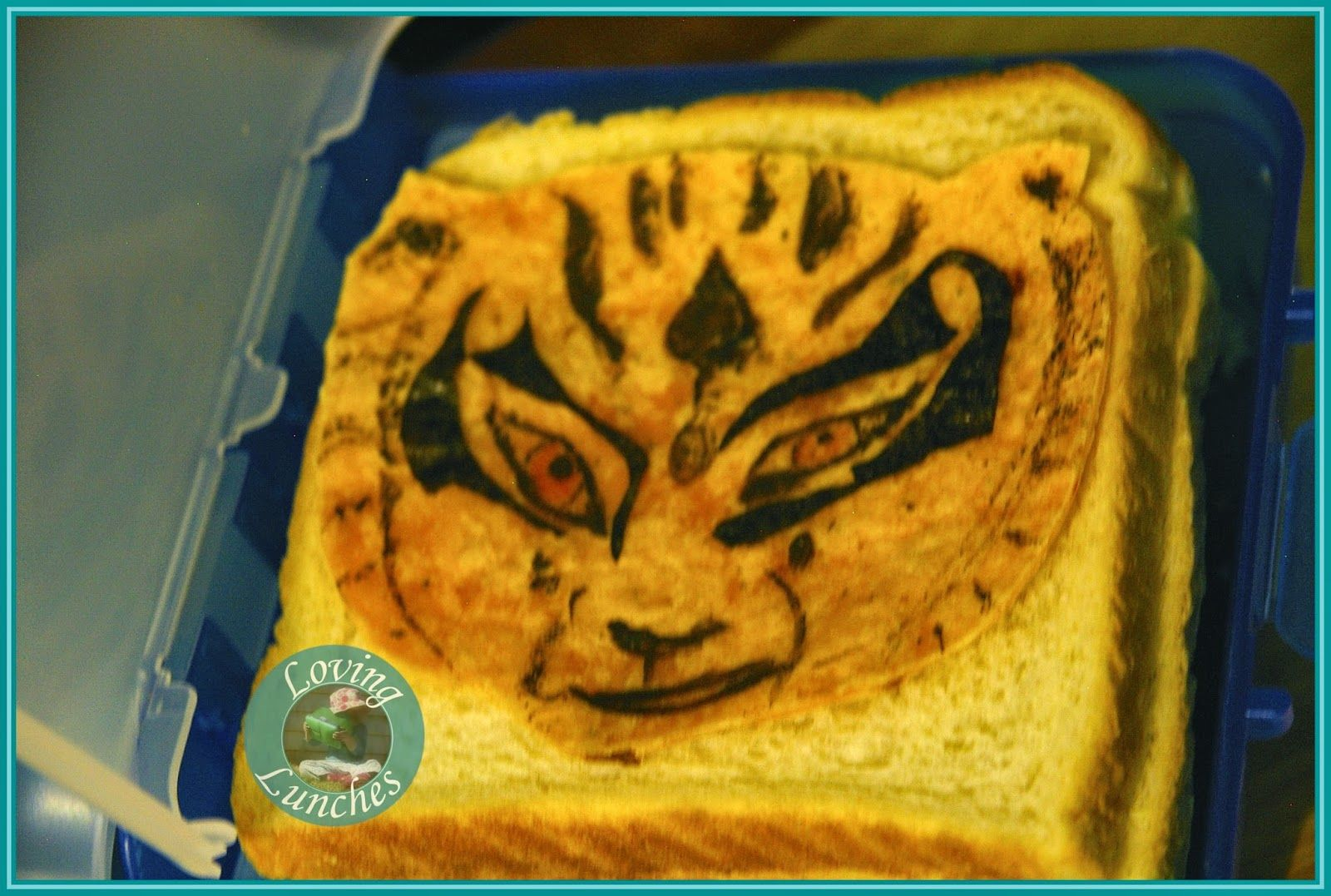 Loving Lunches: Kung Fu Panda Lunches of Awesomeness Crane