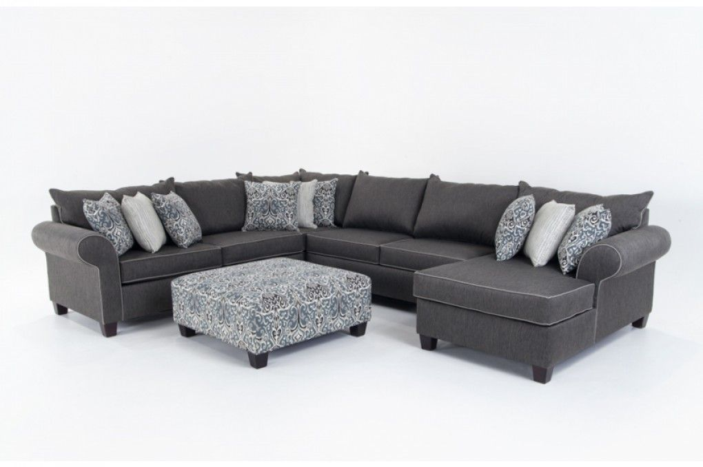 Ashton 5 Piece Left Arm Facing Sectional Sectionals Living Room Bob S Furniture