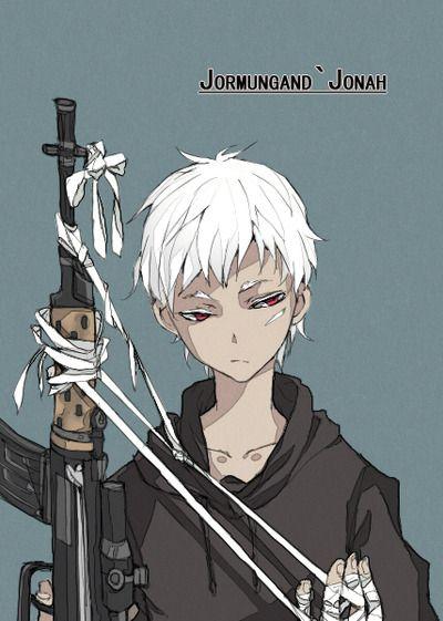 Jonah Jormungand Anime Lovers Manga Anime Anime Boy