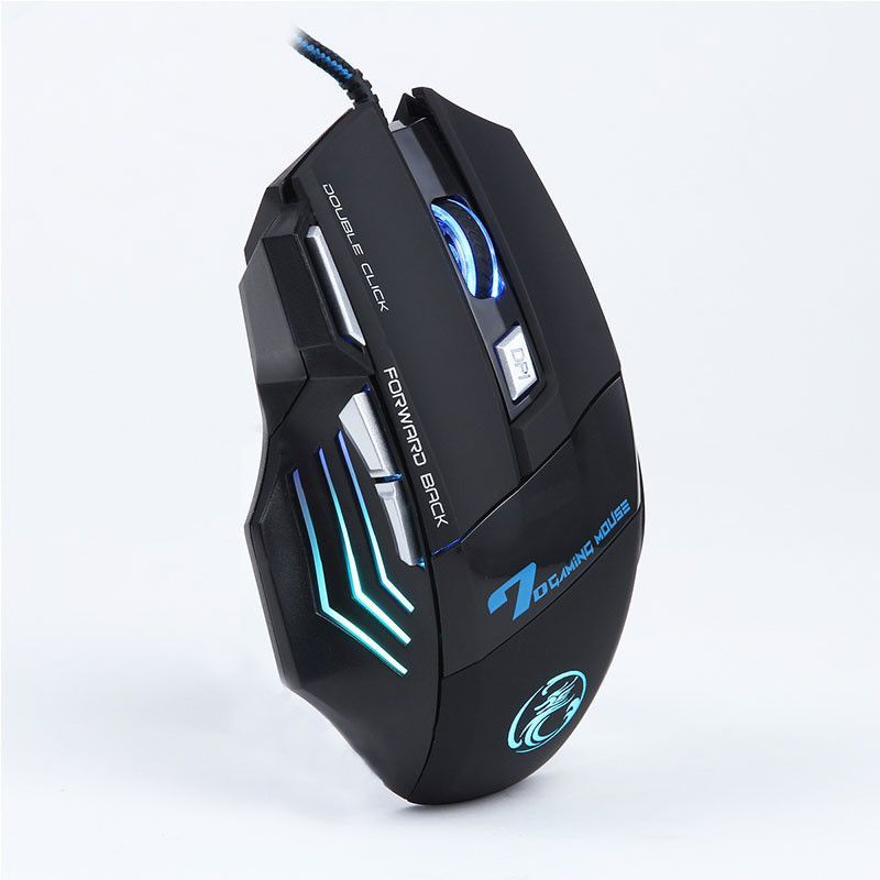 niceeshop 6 buttons 2000 dpi wired led optical gaming game mouse mice dpi