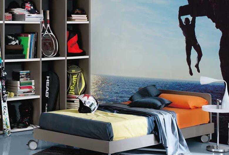 Ten en cuenta las aficiones necesidades y comodidad del for Decoracion de paredes de cuartos para jovenes hombres