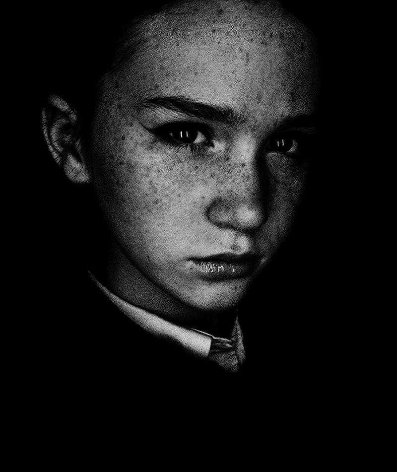 профессиональные черно белые фотографии людей как она рок