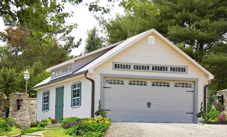 40 Best Detached Garage Model For Your Wonderful House Garage Door Design Prefab Garages Garage Design