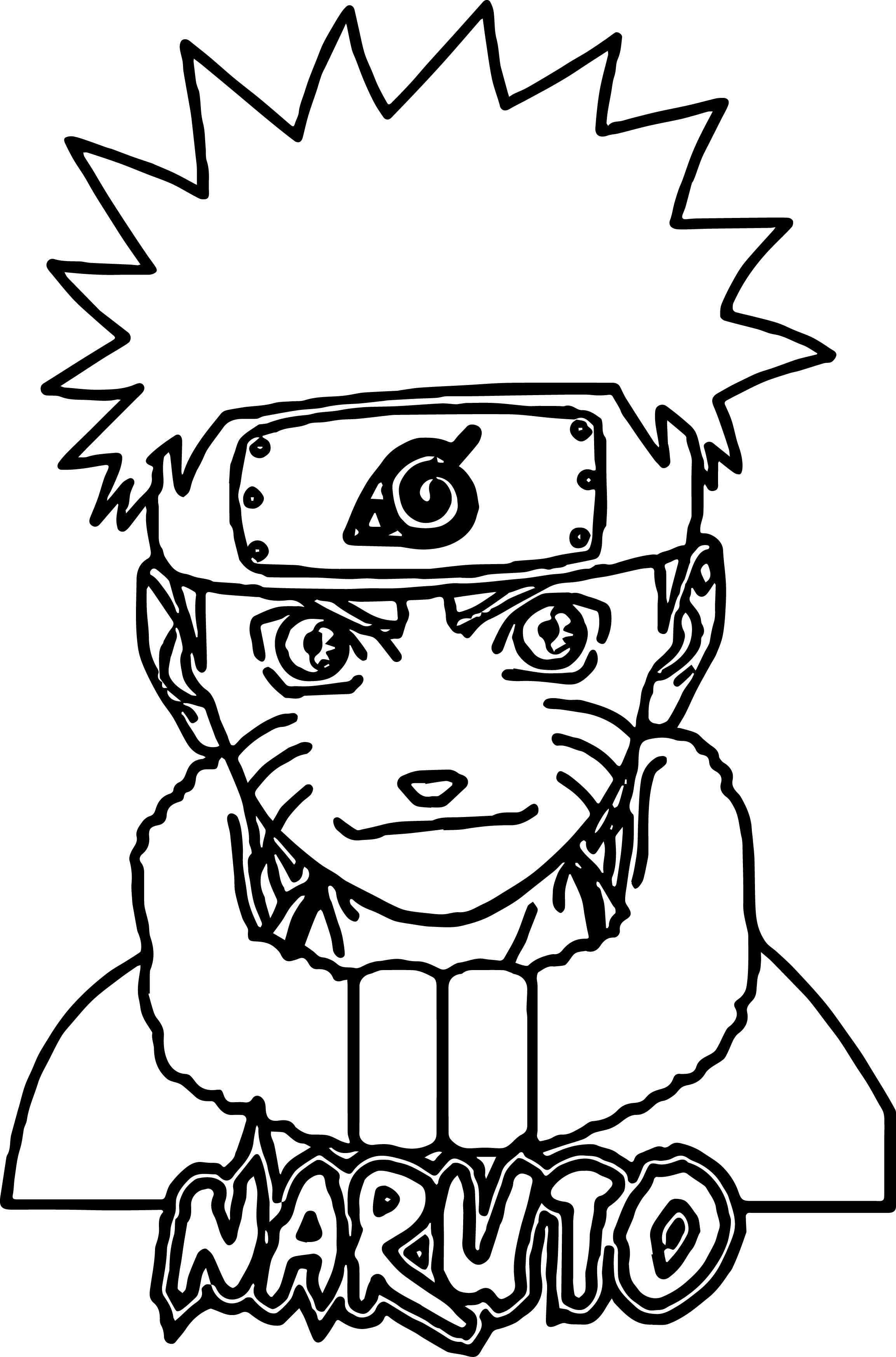 Nice Anime Naruto Coloring Page Coloring Pages Anime Coloring