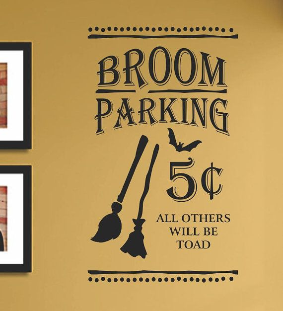 SlapArt Broom Parking 5 cents All Others will by VinylMasterpieces, $15.99