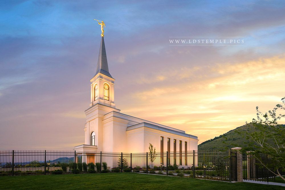 Star Valley Temple Summer Sunrise Lds Temple Pictures Star Valley Temple Temple Pictures Lds Temple Pictures