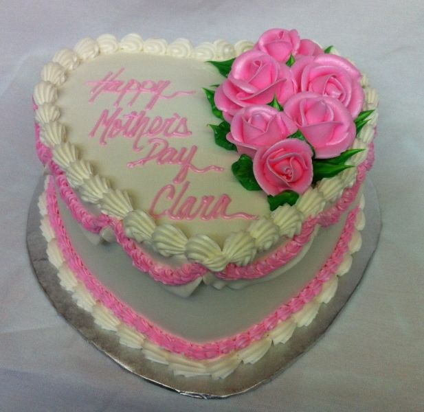 Mail Order Mother S Day Cake Google Search Heart Shaped