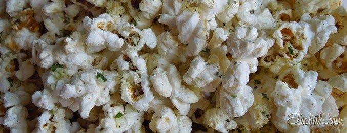 """""""Almost Elote"""" Popcorn (Cilantro/Lime)"""