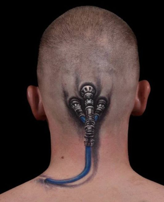 Various Tattoo Designs For Your Body: Mind Blowing 3D Tattoo Designs For Men