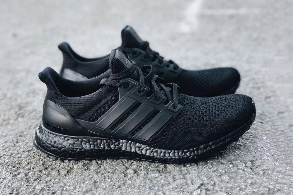 A Closer Look At The Adidas Ultraboost Triple Black Ultra Boost Triple Black Black Sports Shoes Adidas Ultra Boost Men