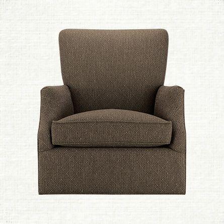 Pleasant Desmond Upholstered Swivel Glider Chair In Wilson Bark Onthecornerstone Fun Painted Chair Ideas Images Onthecornerstoneorg
