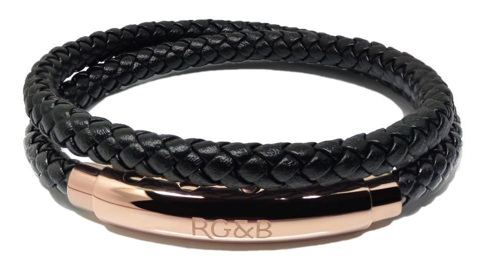 Woven Adjustable Double Rosegold Amp Black Accessories