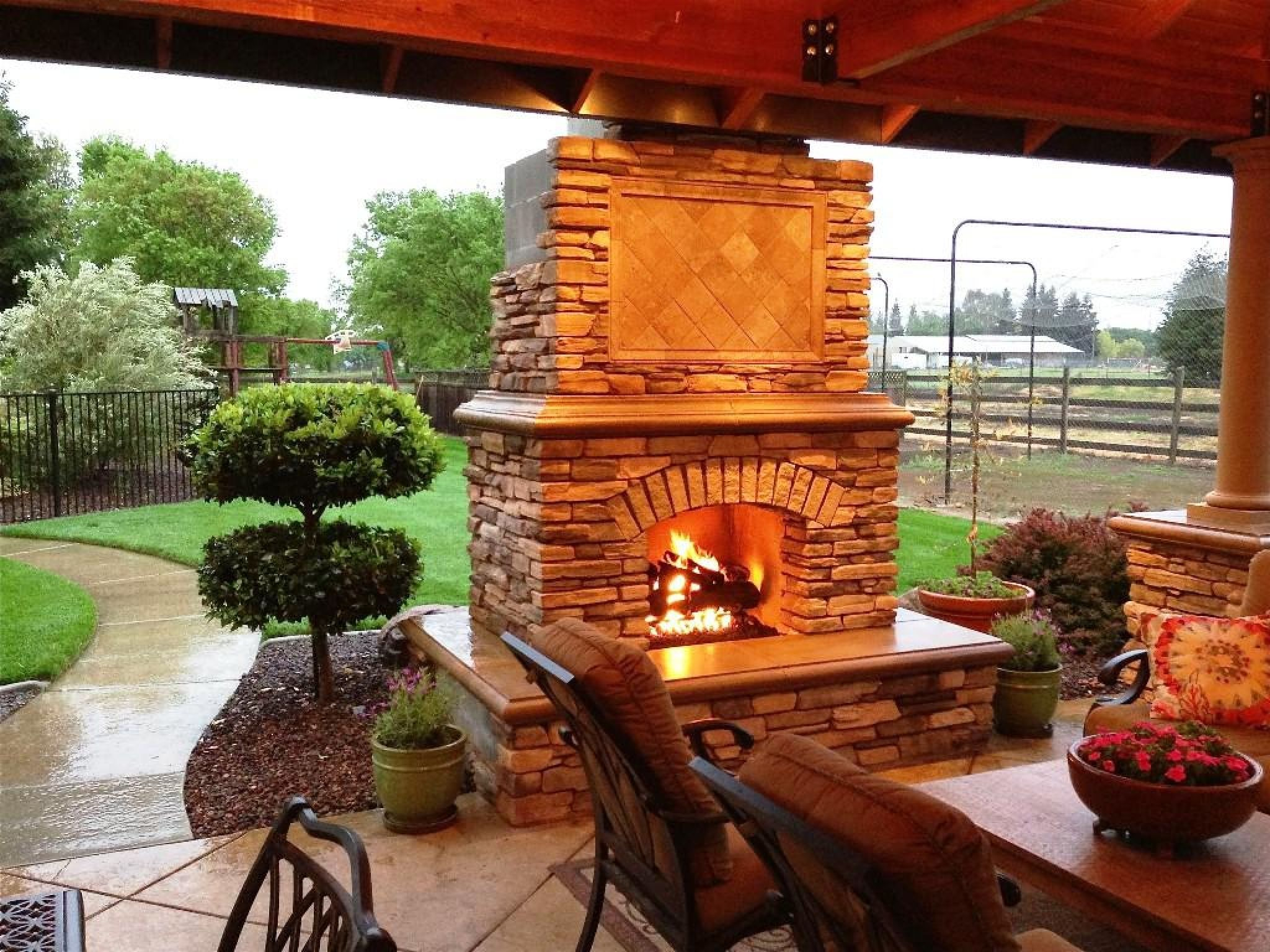 corner outdoor fireplace kits lowes paint colors on lowes paint colors interior id=37777