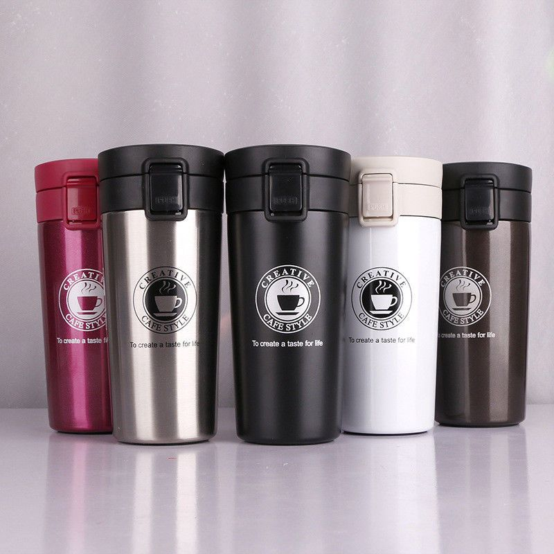 New 380ml Thermo Bottle Thermos Mug Mini Coffee Vacuum Flasks m8n0Nw