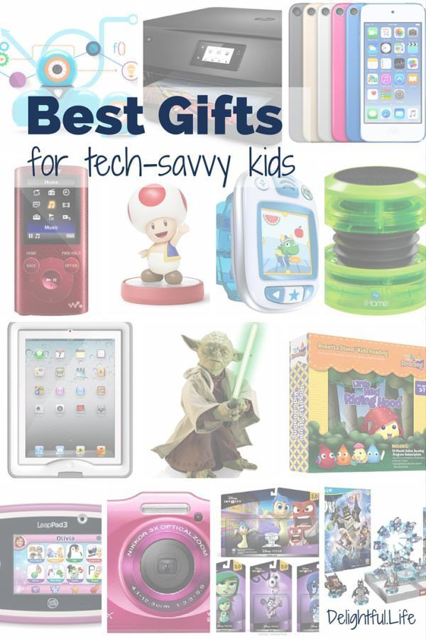 best gifts for tech savvy kids