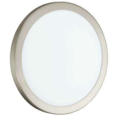EGLO Arezzo 12W 1 Light Flush Mount