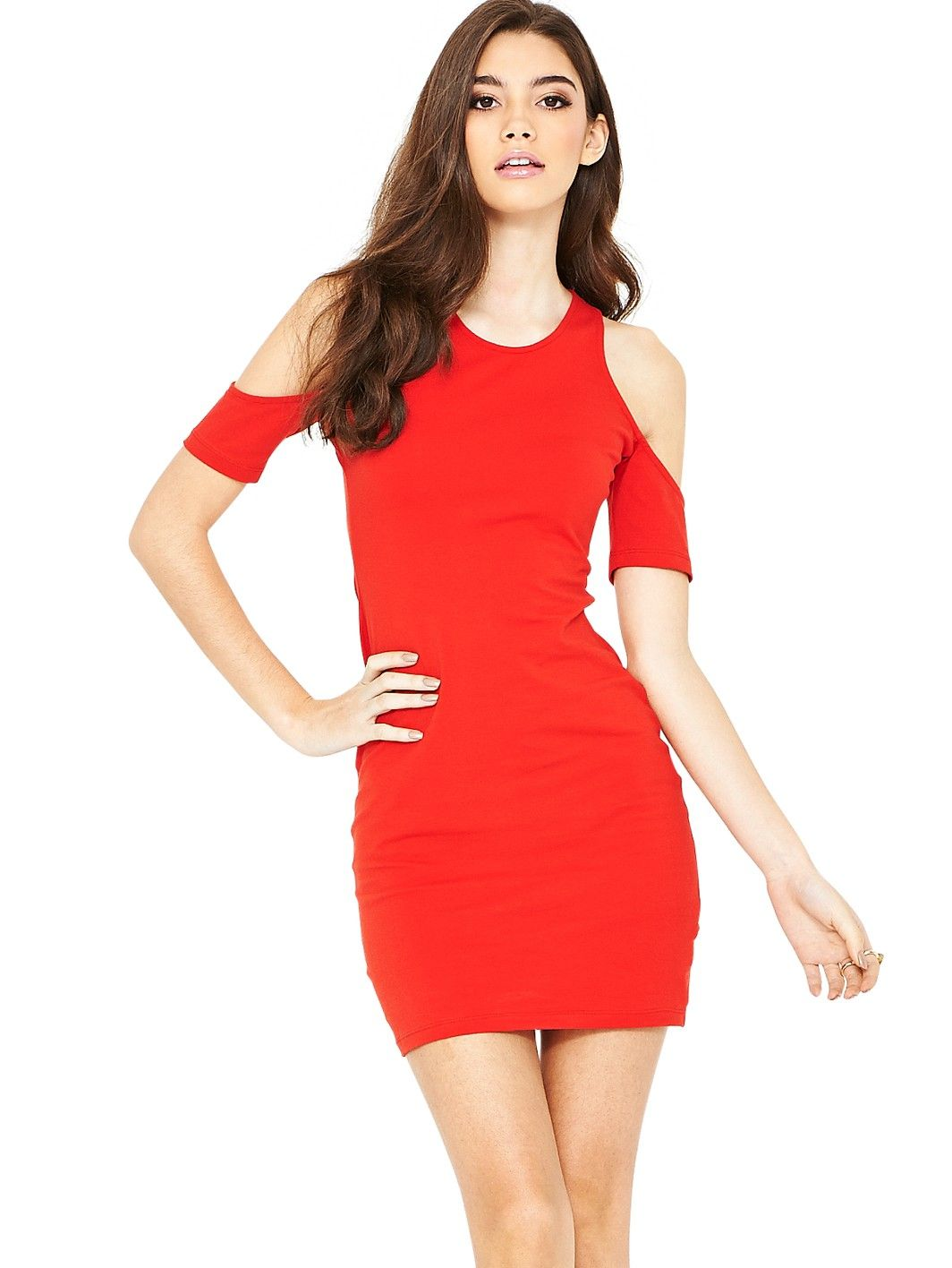 Motel carey cold shoulder dress very very romantic