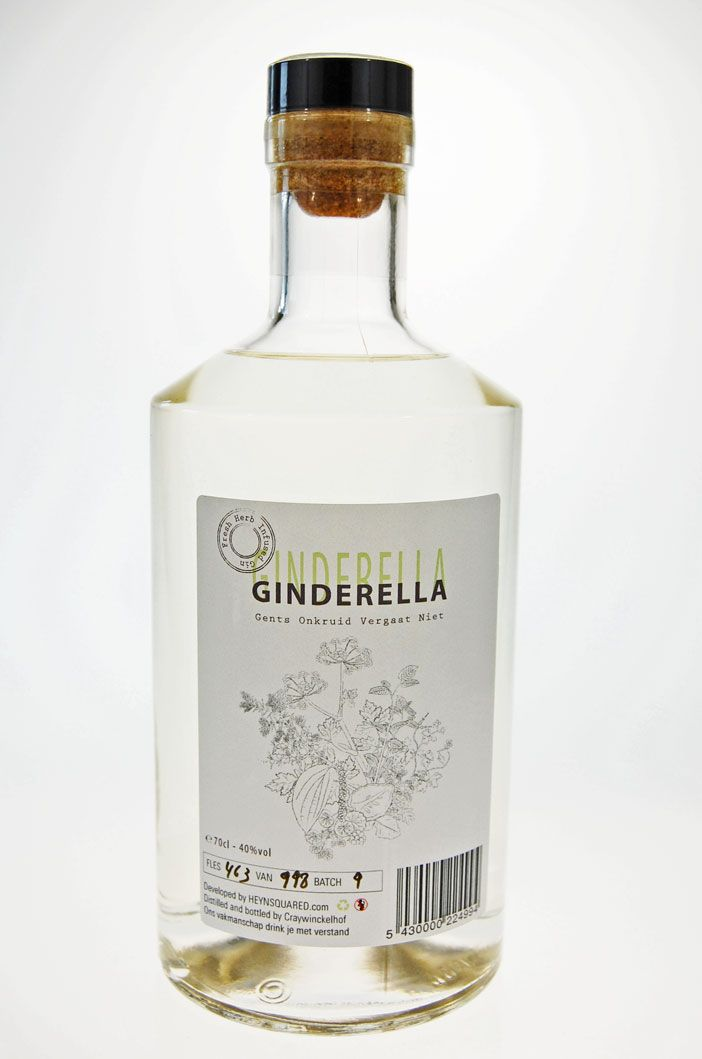 Tasted: Cinderella Gin from Belgium (but not on my collection ...