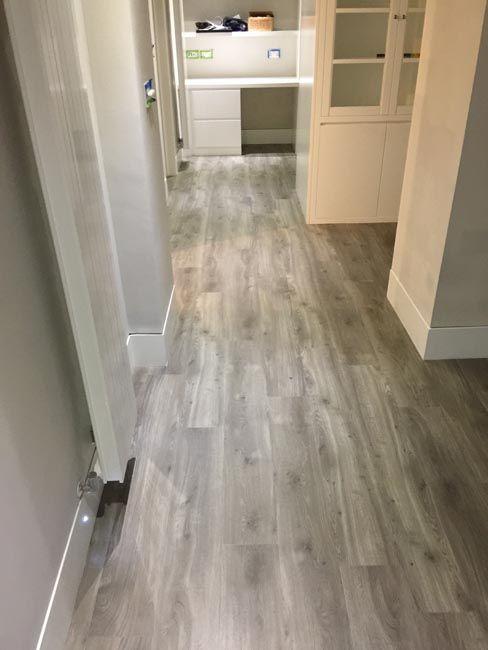 Amtico Grey Wood Flooring To Premises In South London Hardwood