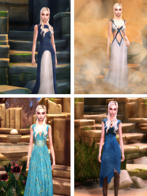 Daenerys Targaryen Sims 4 Clothes Game Of Thrones Cc Sims 4 Sims 4 Dresses Sims 4 Sims