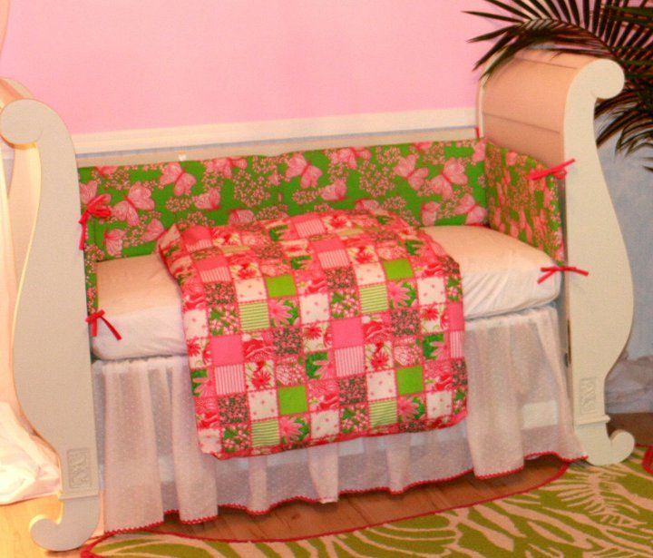 Lilly Pulitzer Crib Bedding Set For Nursery Lilly Pulitzer