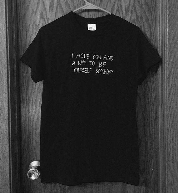 f3b5d60390d00 The NBHD Lyrics T-Shirt   The Neighbourhood Honest Lyrics Embroidered T- Shirt