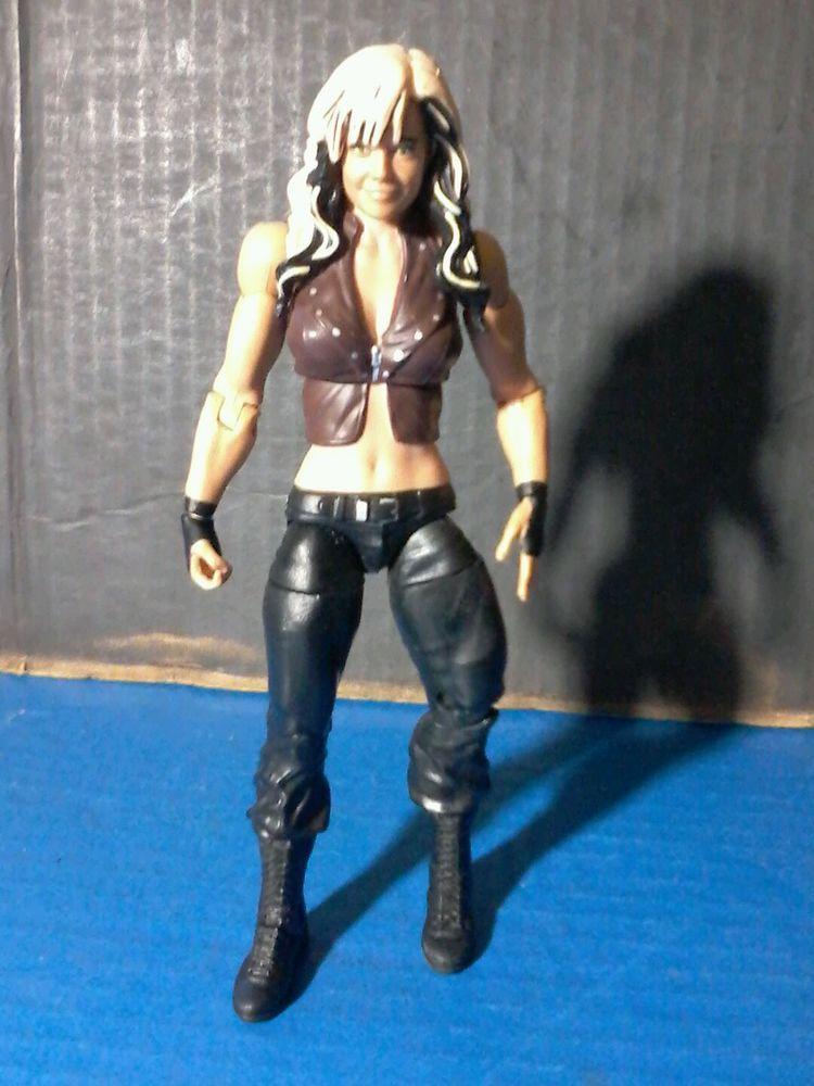 """WWE ACTION FIGURE : 7 """" Kaitlyn Mattel Wrestling Diva Basic Best of 2013 nxt wwf…"""