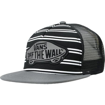 7933c34517d VANS Vans Girls Skimmer Black Trucker Hat