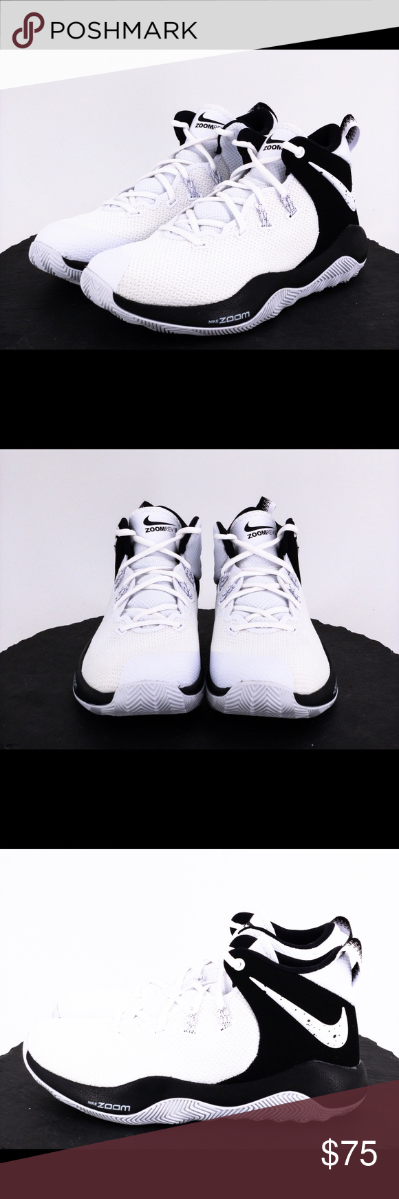 e2de5344b5325 Nike Zoom Rev II mens basketball shoes size 7.5 The product you are  purchasing is a