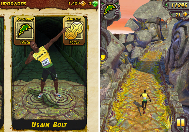 Temple Run 2 Mod APK [Unlimited Coins and Gems + Unlocked + Usain