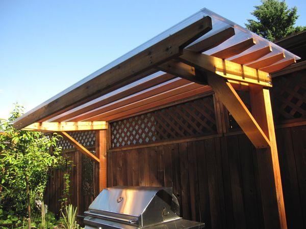 roof bbq shelter | carport designs | pinterest | roof ideas ... - Patio Bbq Designs