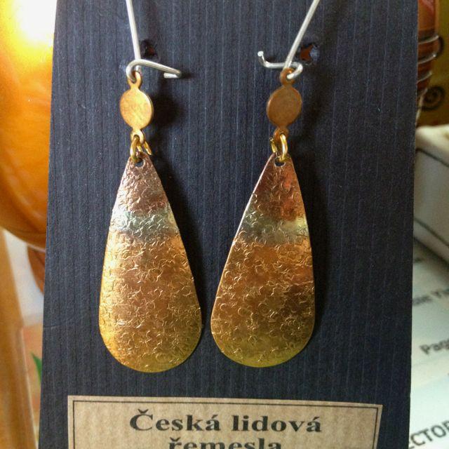 Earrings From Prague