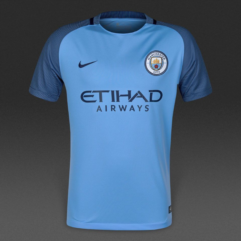 15e6c9a33 Manchester City 16 17 Home Men Soccer Jersey Personalized Name and Number