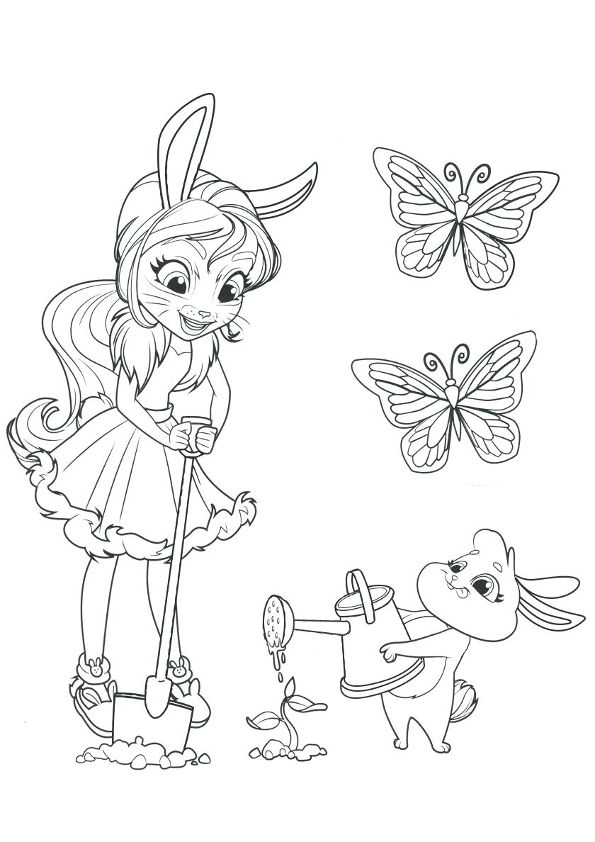 Enchantimals New Free Printable Coloring Pages Cute Coloring Pages Cartoon Coloring Pages Poppy Coloring Page
