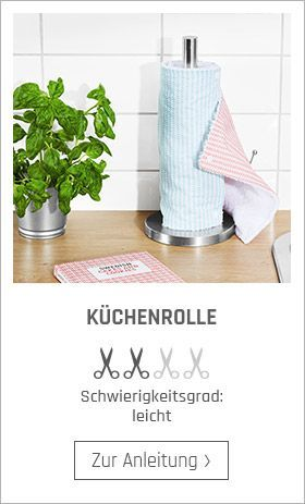Küchenrolle Nähanleitung,  #Küchenrolle #Nähanleitung