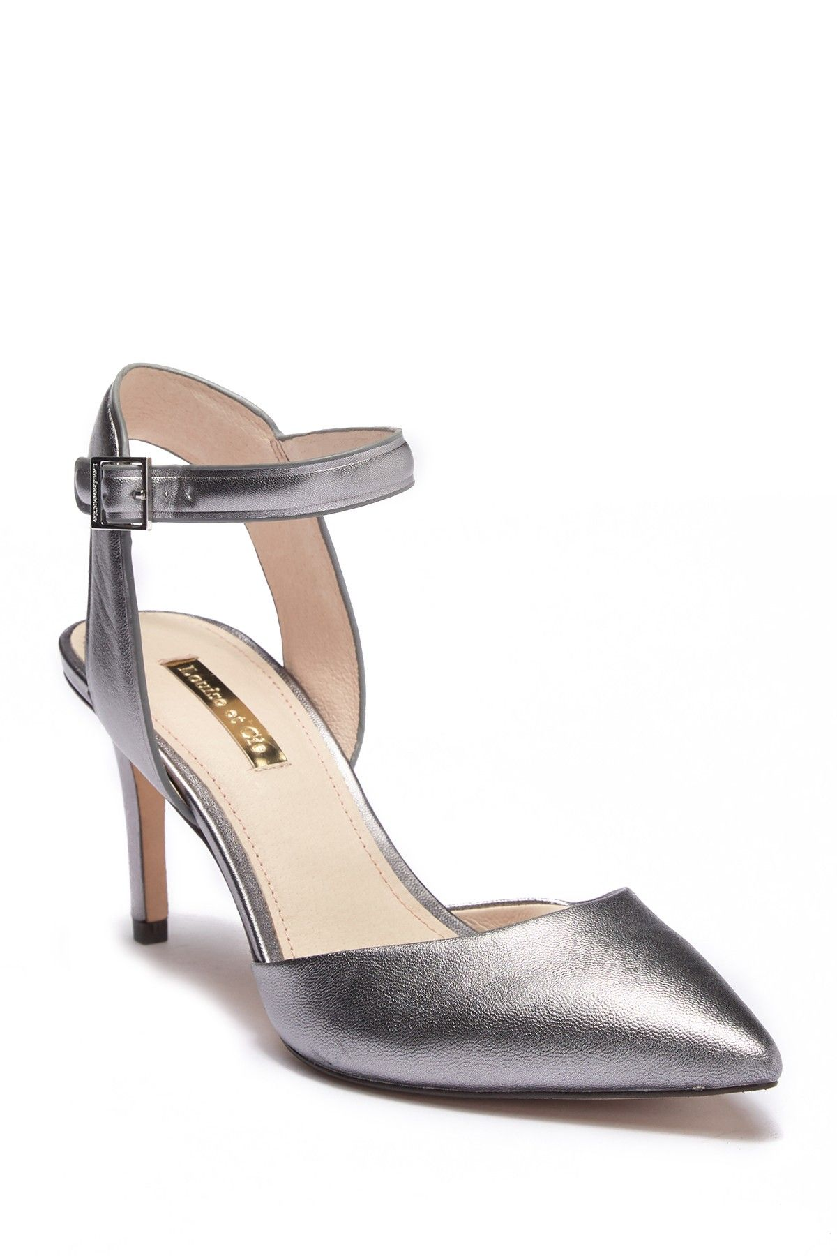 b0d6f552e95e Louise et Cie - Kota Ankle Strap Pump is now 50-60% off. Free Shipping on  orders over  100.