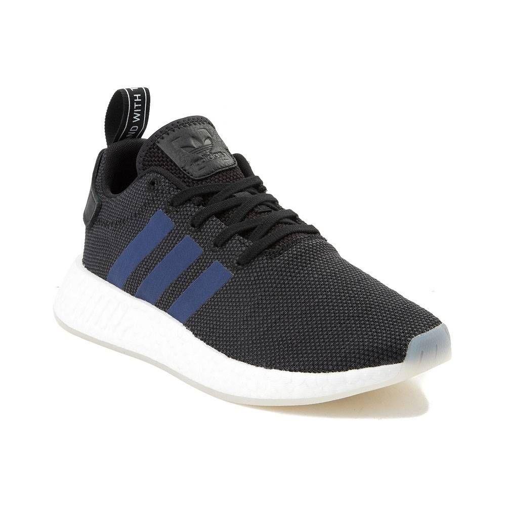 e82eaa956d8e2 Womens adidas NMD R2 Athletic Shoe - Black Blue - 436512
