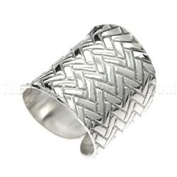 Woven Wrap Silver Ring - Adjustable   Silver Jewellery  http://www.thejewellerypeople.com/online_store/zig-zag-wrap-silver-ring.cfm